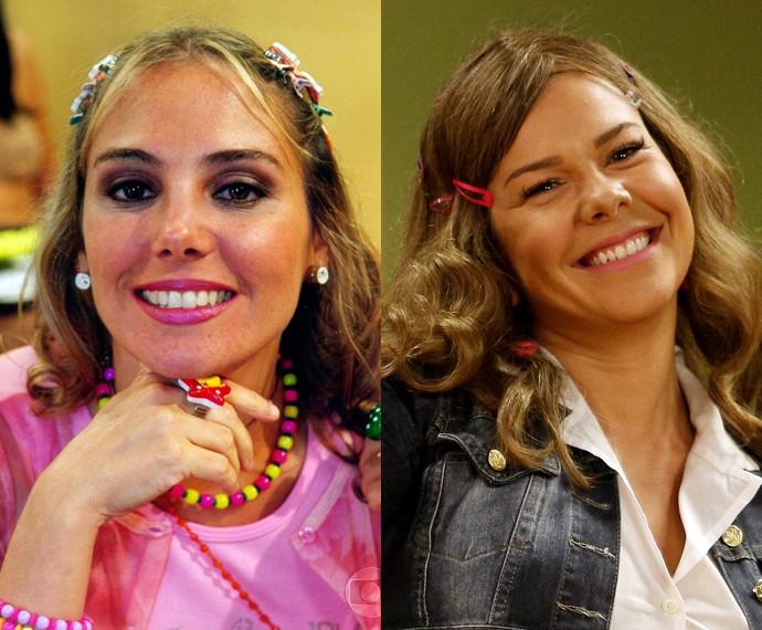 Fernanda Souza como Tati (Foto: CEDOC/TV Globo e Raphael Dias/Gshow)