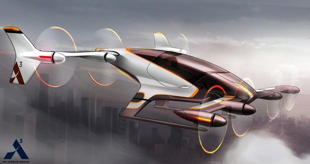 Vahana é aposta da fabricante de aviões Airbus (Foto: Airbus via AP)