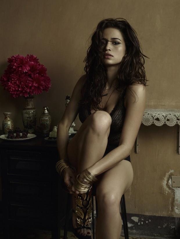 Nanda Costa em ensaio nu para 'Playboy' (Foto: Bob Wolfenson/Playboy)