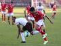 Isac admite incômodo com jejum de gols e vê cobrança natural no Bota-SP