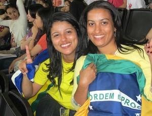 Irmãs Sarah Menezes (Foto: Carlos Mota / Globoesporte.com)