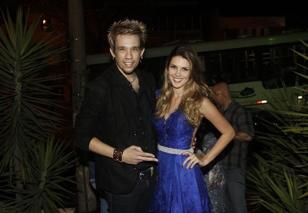 Kiko KLB e Francine Pantaleão (Foto: Celso Tavares / EGO)