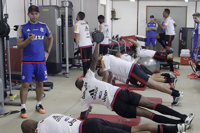 Rodrigo Poletto preparador físico Flamengo (Foto: Gilvan de Souza / Flamengo)