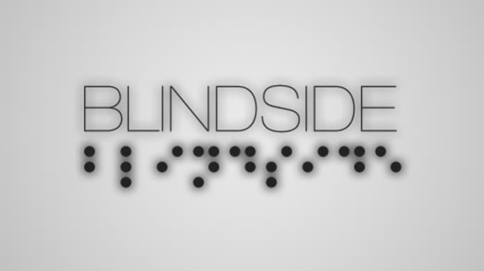 Sob o título principal podemos ver o nome do jogo escrito em Braile (Foto: Divulgação)