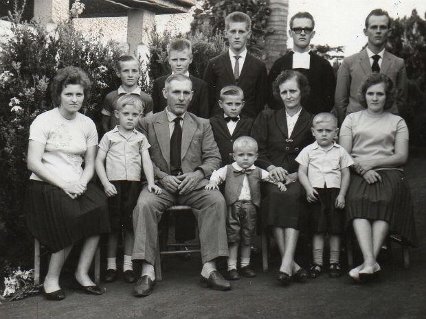 Família Dom Odilo Scherer (Foto: Arquivo Pessoal)