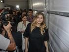Sasha vai ao SPFW com os pais, Xuxa e Luciano Szafir