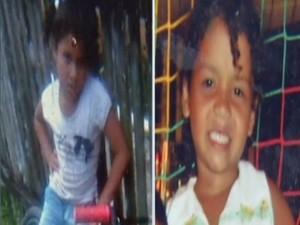 Vitória Karolaine Magalhães, de 8 anos, e Ana Clara Pinheiro, de 6 anos, foram assasinadas no bairro do Tenoné, em Belém. (Foto: Reprodução/TV Liberal)