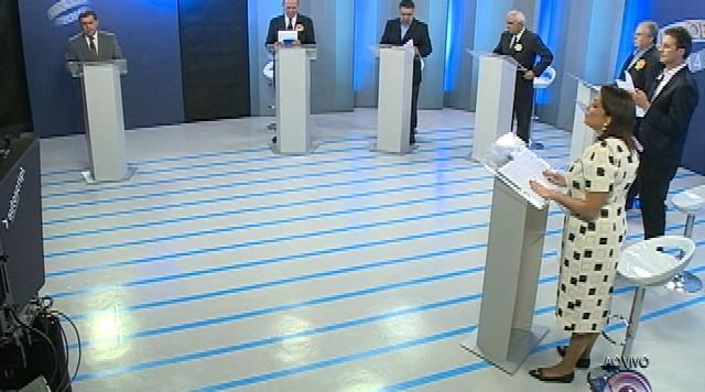 Debate entre os candidatos ao governo de Santa Catarina - Parte 5