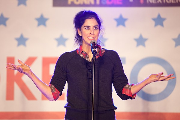 A atriz Sarah Silverman (Foto: Getty Images)