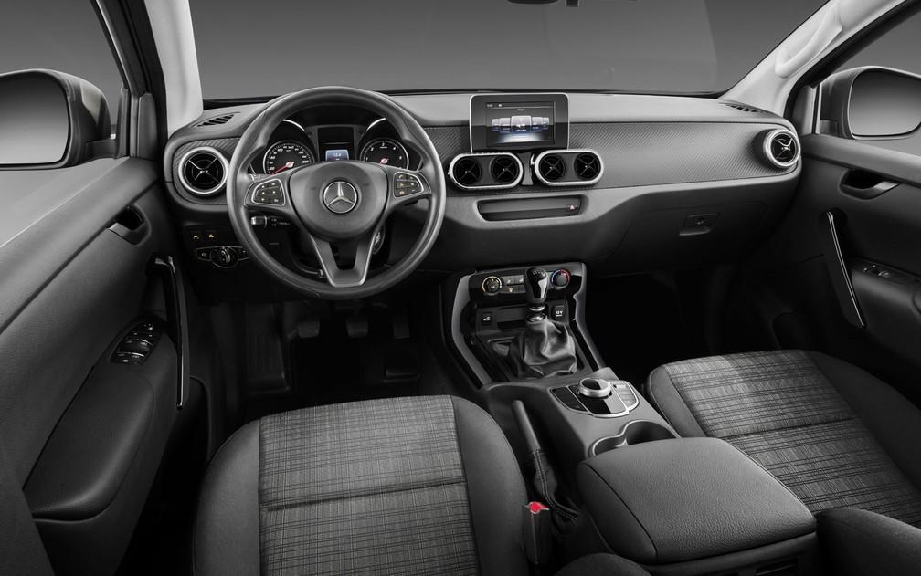 Mercedes-Benz Classe X Pure, versão mais 'básica' (Foto: Divulgação)