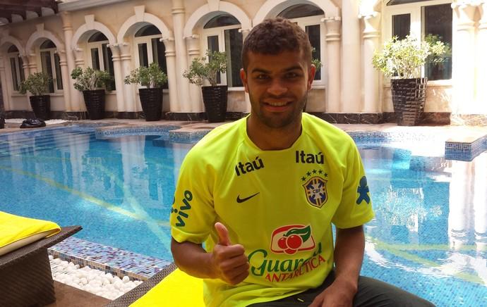 alisson catar seleção brasileira sub 21 (Foto: Richard Souza)