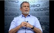 José Raimundo e a reportagem no Rio São Francisco