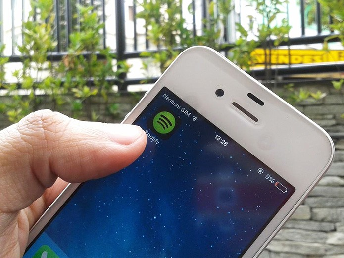Spotify: compartilhe músicas com seus contatos do WhatsApp (Foto: Marvin Costa/TechTudo)
