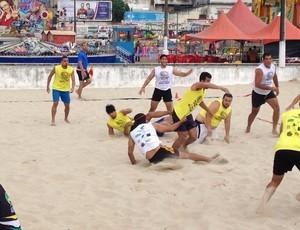 Beach Rugby (Foto: Divulgação)