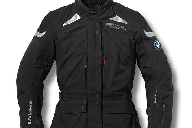 Casaco com air bag para motociclistas da BMW (Foto: Divulgação)
