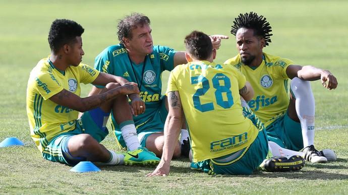 Tche Tche Zé Roberto Moises Palmeiras (Foto: Cesar Greco/Ag Palmeiras/Divulgação)