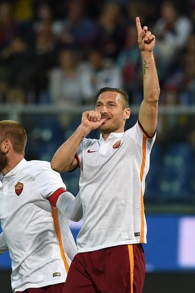 Totti Roma e Genoa (Foto: Getty Images)