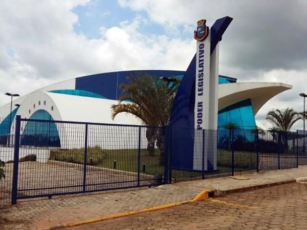 Prédio inaugurado em 2014 tem espaço insuficiente, diz Câmara (Foto: Adolfo Lima/ TV TEM)