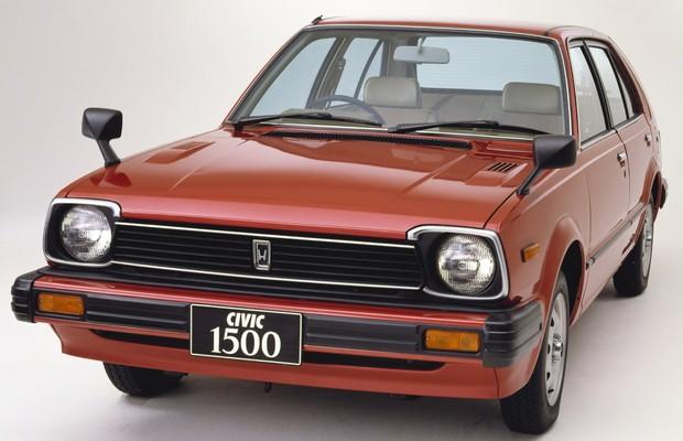 Honda Civic 1979 (Foto: Divulgação)