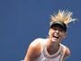 Sharapova erra muito e é eliminada nas oitavas de final no US Open