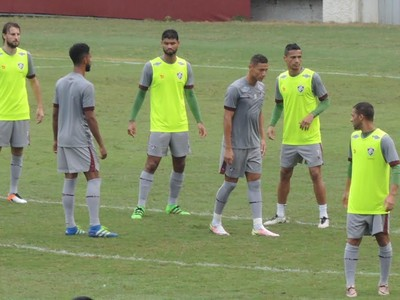 Fluminense treino Laranjeiras (Foto: Hector Werlang)