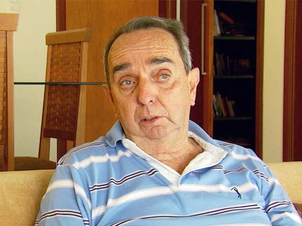 Ex-prefeito de Três Corações disse que foi questionado sobe empresa de BH (Foto: Reprodução EPTV / Devanir Gino)