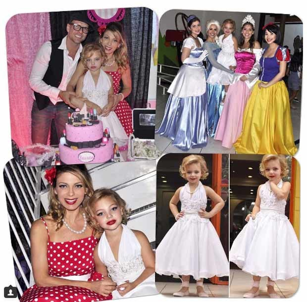 A festa também teve princesas (Foto: Reprodução/Instagram)