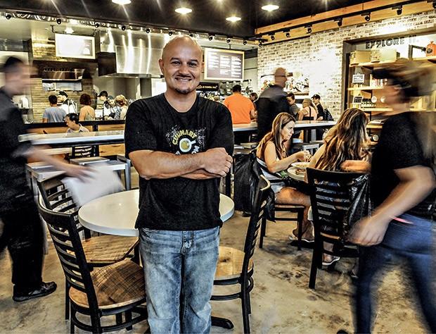 John Velasquez, responsável pelas operações nos Estados Unidos: promessa de liderar o mercado local (Foto: Gerardo Mora/Getty Images para ÉPOCA Negócios)