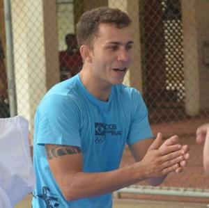 Walison da Silva, técnico seleção acreana de Taekwondo (Foto: Duaine Rodrigues)
