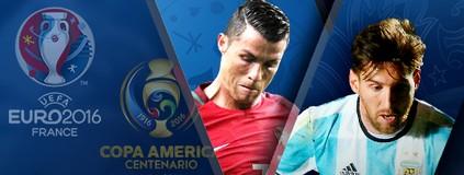 Duelo de Copas: Euro ou América? Compare e escolha a melhor! (infoesporte)