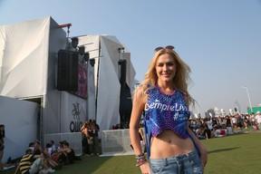 Fiorella Mattheis no Rock in Rio (Foto: J.P. Dias/ Ag. News)