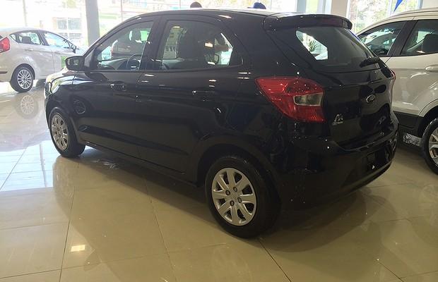 Novo Ford Ka chega às revendas (Foto: Guilherme Blanco Muniz/Autoesporte)