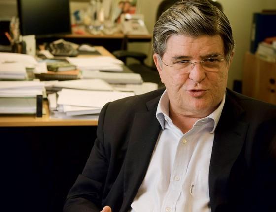 O ex diretor da Transpetro, Sergio Machado (Foto:   Luciana Whitaker/Valor)