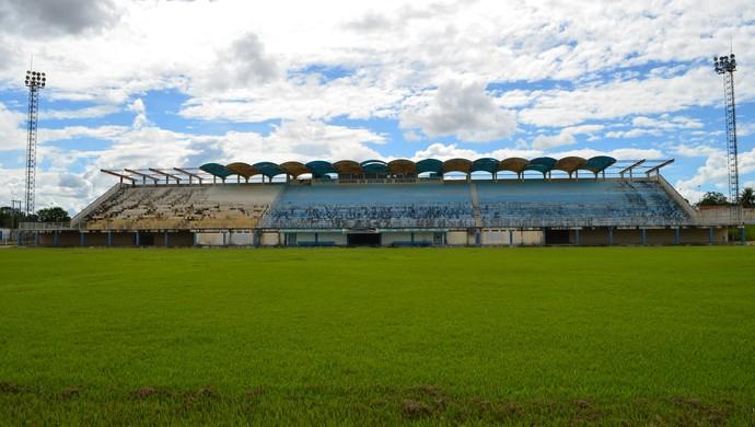 Estádio Biancão, Ji-Paraná, RO (Foto: Samira Lima)