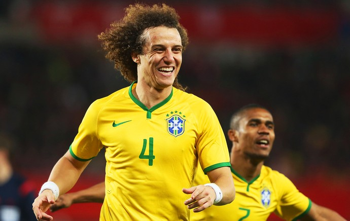 Áustria x Brasil - David Luiz (Foto: Mowa Press)