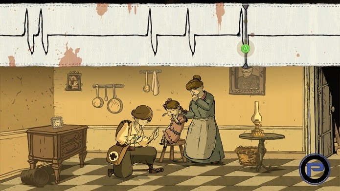 A enfermeira Ana precisa ser precisa em seus movimentos. (Foto: Divulgação)