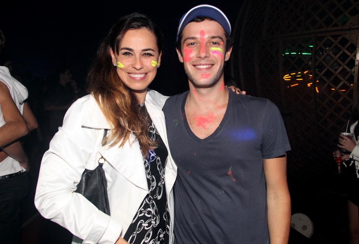 Daniela Escobar e Jayme Matarazzo (Foto: Gabriel Rangel/ AgNews)