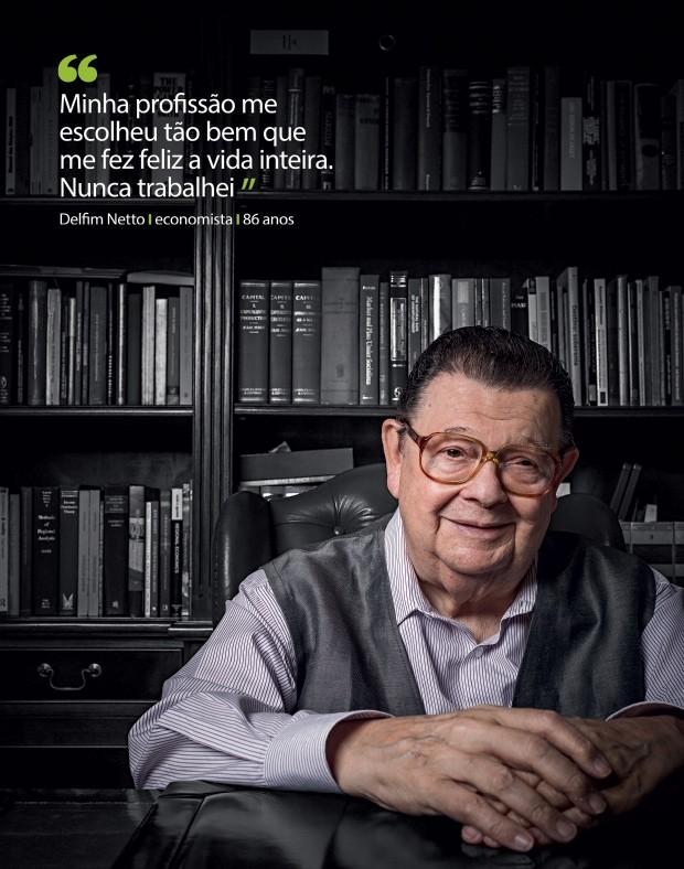Delfim Netto (Foto: Na Lata/ÉPOCA)