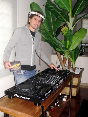 Rubens Júnior DJ (Foto: Arthur Costa/ Globoesporte.com)