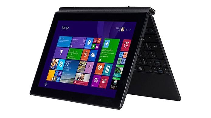Modelo da CCE também pode ser usado como tablet (Divulgação/CCE)
