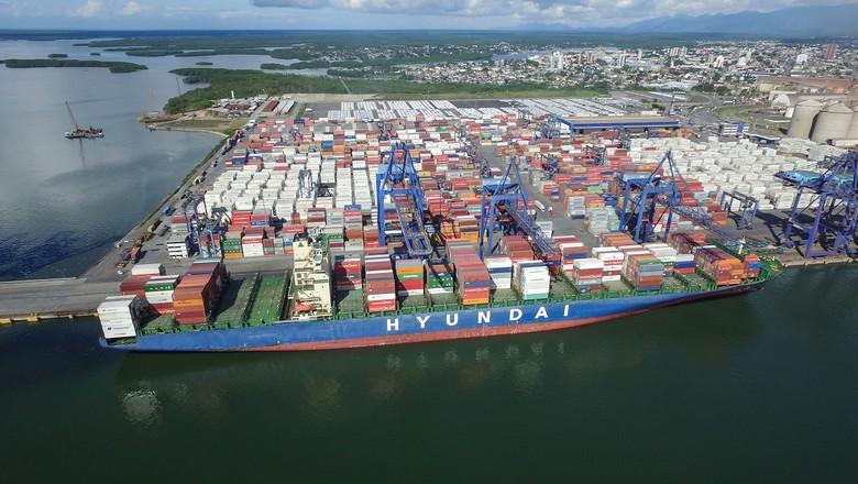 terminal-conteineres-paranagua-tcp (Foto: Divulgação/TCP)