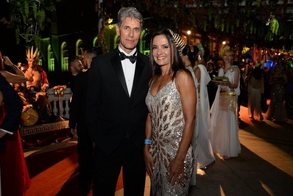 Fernanda Keller e o marido, Sergio Melo (Foto: Leo Marinho / Ed. Globo)