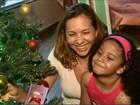 'Ali começou meu Natal', diz mãe que apadrinhou e adotou criança no AP