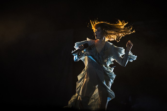 Florence Welch brilha no Lollapalooza (Foto: Raphael Dias/Gshow)