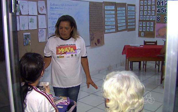 professora (Foto: Bom Dia Amazônia)