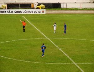 Santo André e Gama se enfrentam pela Copa São Paulo (Foto: Filipe Rodrigues/ Globoesporte.com)