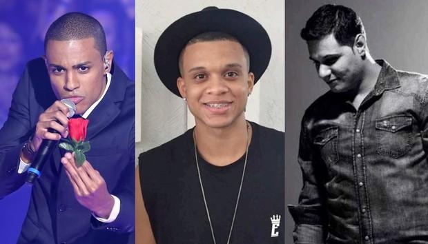 Romero Ribeiro, Jeffinho e Nego Branco: os novos cantores do Exaltasamba (Foto: Divulgação)