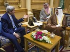 Secretário de Estado dos EUA é recebido por rei da Arábia Saudita