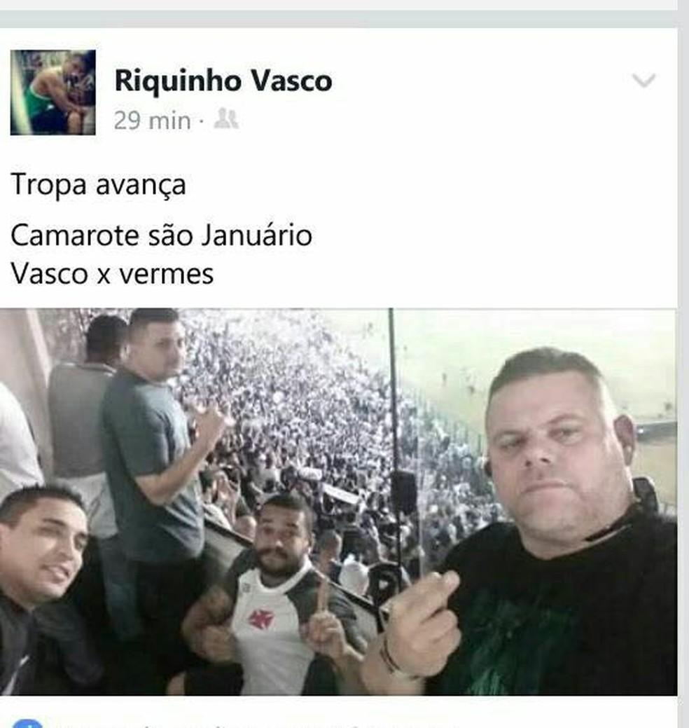 Funcionário do Vasco no