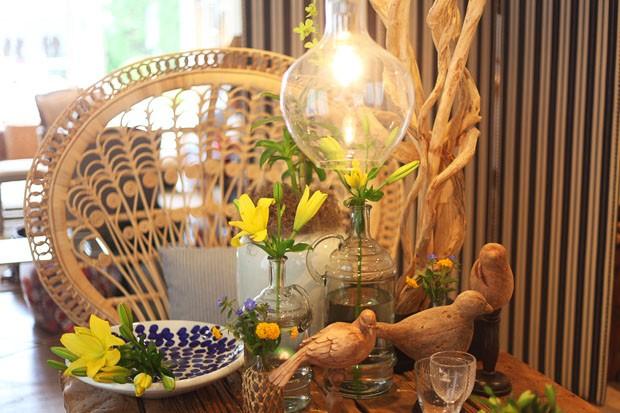 Mesa de verão da Amelinha Amaro (Foto: Michell Lott)